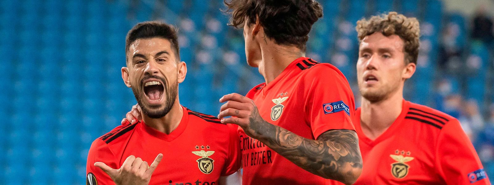 Pizzi marcou o primeiro golo do Benfica de grande penalidade.
