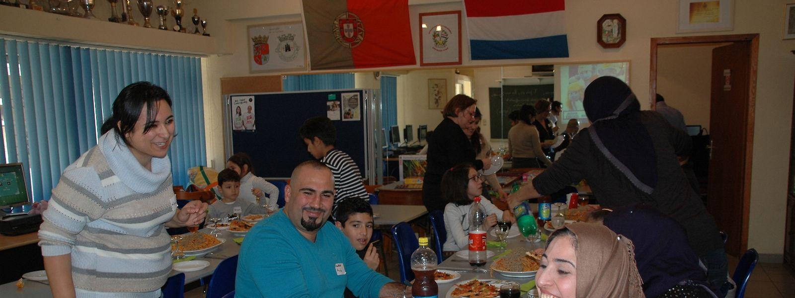 Begegnungsstätte für Einheimische und Flüchtlinge im Wiltzer interkulturellen Zentrum.