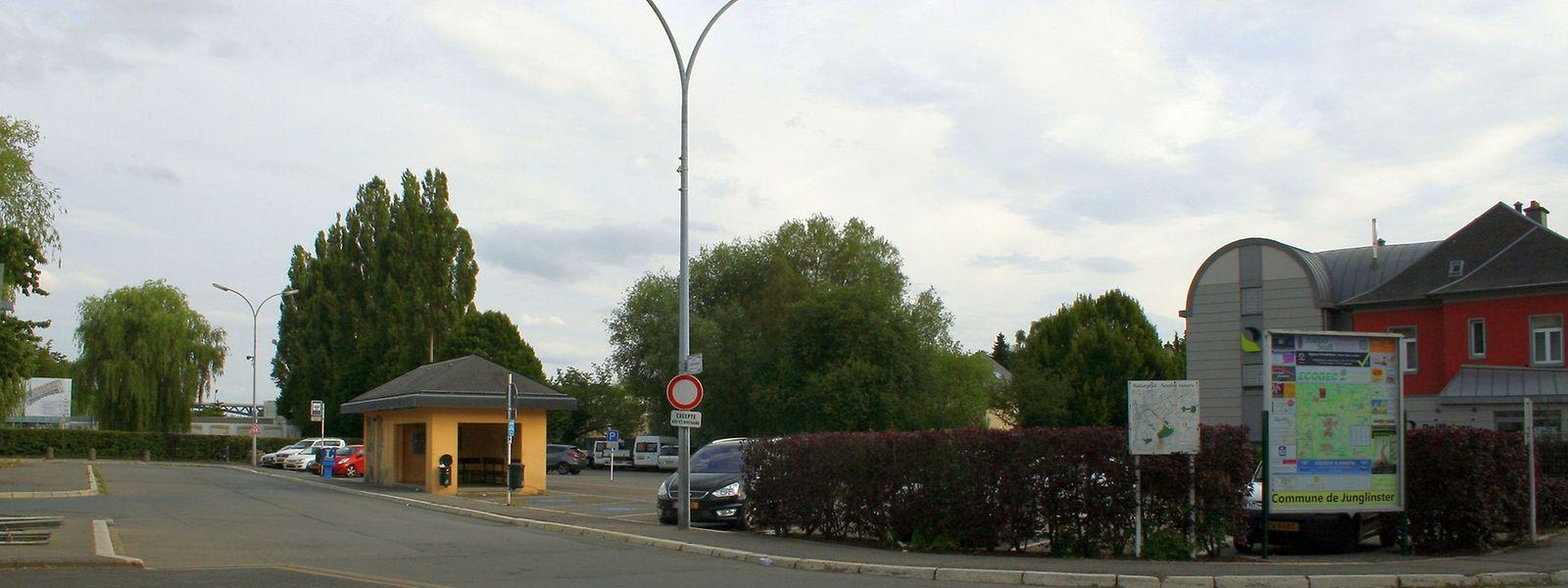 Der Busbahnhof wird aus dem Landschaftsbild verschwinden, anstelle kommen Wohnungen, Geschäfte und ein Park.