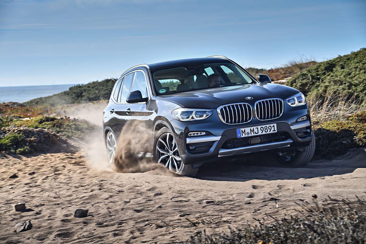 Das Mittelklasse-SAV aus dem Hause BMW wird in Europa vorerst nur mit serienmäßigem Allradantrieb angeboten.