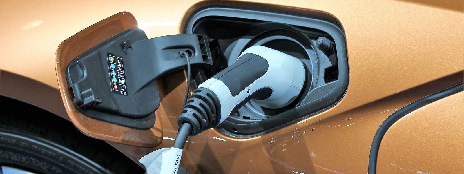 Bei der Produktion von Batterien von Elektroautos werden viele Treibhausgase freigesetzt.