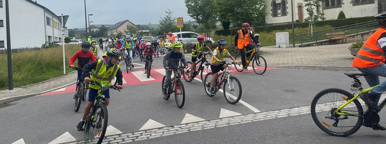 3.328 Kilometer haben die 89 Teilnehmer der Aktion innerhalb von drei Wochen zusammengeradelt.