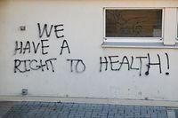 Lokales, Lycée Athenée, Protest gegen Sportunterricht, Vandalismus  Foto: Anouk Antony/Luxemburger Wort
