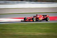 19.02.2020, Spanien, Montmelo: Formel 1, Testfahrt: Sebastian Vettel aus Deutschland vom Team Scuderia Ferrari bei einer Testfahrt auf dem Circuit de Catalunya. Foto: Javier Martinez Dela Puente/SOPA Images via ZUMA Wire/dpa +++ dpa-Bildfunk +++