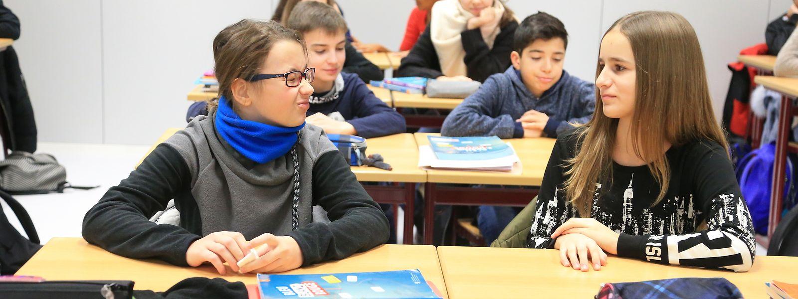 Lundi, 3.000 élèves supplémentaires sont attendus dans les établissements d'enseignement.