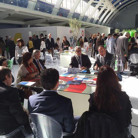 Francisco Silva, da CCILL, segundo à direita na foto, vai estar novamente da LuxExpo para promover as empresas portuguesas.
