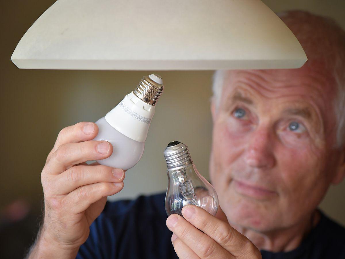 Inzwischen sieht Brüssel fèr die meisten Halogenlampen bessere Alternativen, zum Beispiel die energiesparende LED-Lampe.