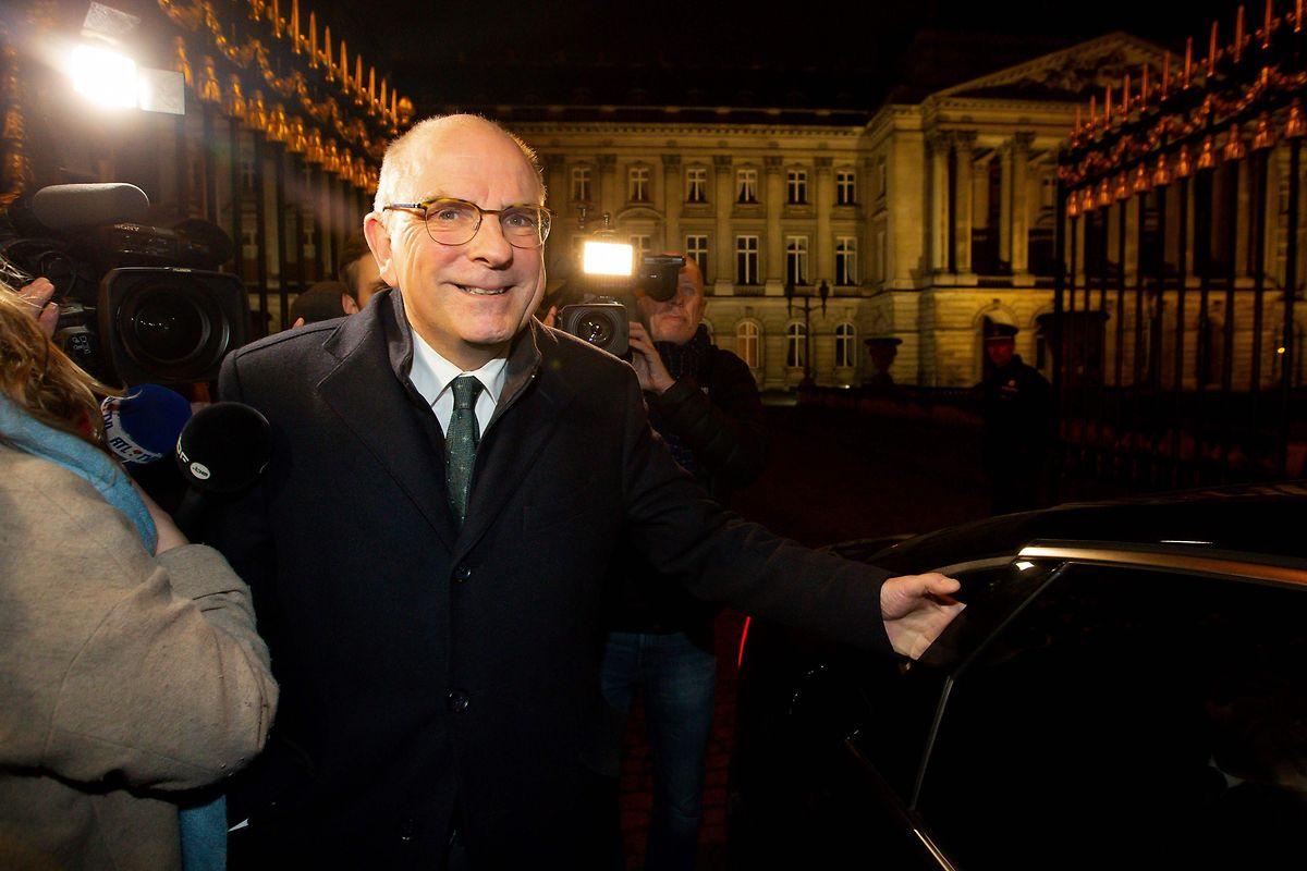 Koen Geens a été désigné par le roi Philippe vendredi pour tenter un rapprochement entre la N-VA nationaliste flamande et le Parti socialiste francophone
