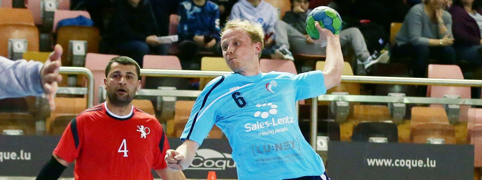 Dany Scholten (r.) bestritt 96 Spiele mit dem Nationalteam.