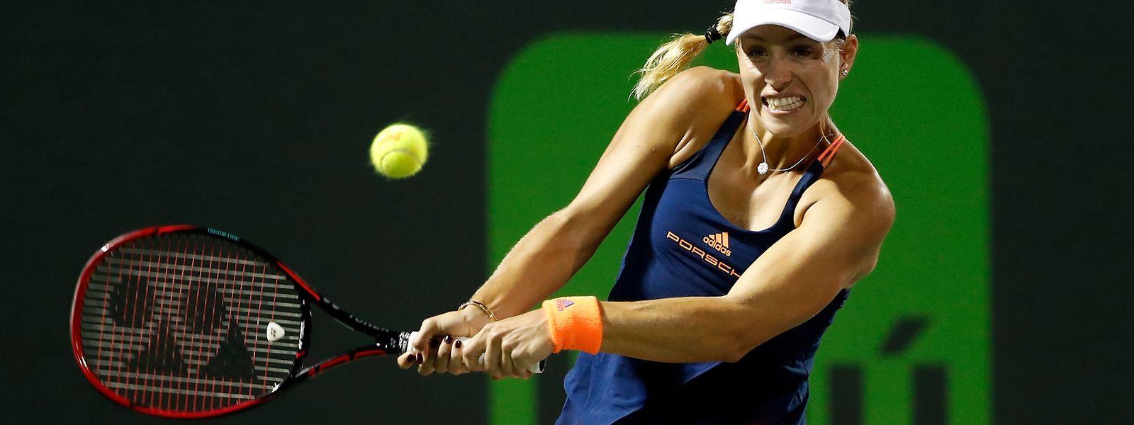 Angelique Kerber konnte 2017 noch kein Turnier gewinnen.