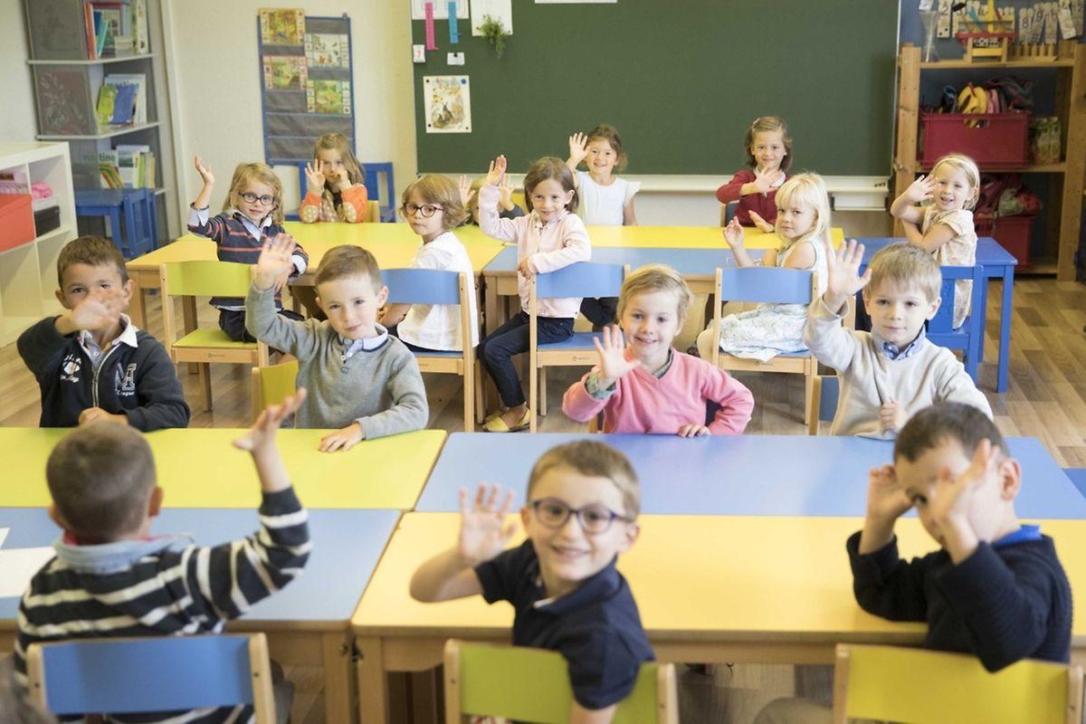 Depuis que l'école existe, ses effectifs ne cessent de croître de 10% tous les ans. C'est le cas encore, cette nouvelle année scolaire.