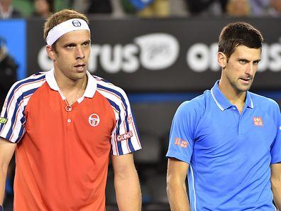 Bereits zwei Mal trafen Gilles Muller und Novak Djokovic aufeinander. Jetzt gibt es eine dritte Auflage.