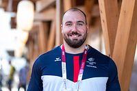 Bob Bertemes / Interviews, Olympisches Dorf, Olympia / 01.08.2021 / Olympische Spiele 2020 / Tokio 2020 / Foto: Yann Hellers