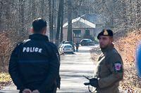 Waldhaff , Militärlager Armee  , Explosion Munition , 2 Tote , 2 Verletzte , Foto:Guy Jallay/Luxemburger Wort