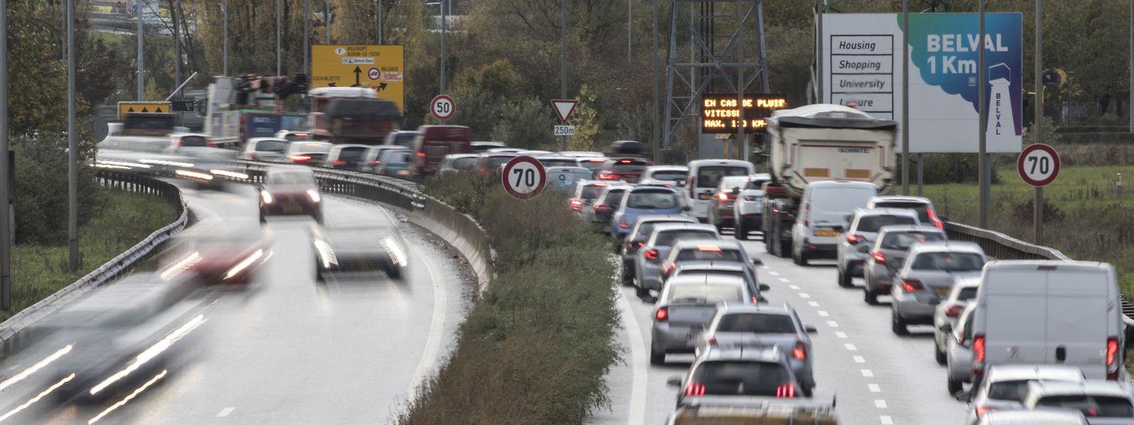 A la sortie de l'A4, devant le rond-point de Raemerich, plusieurs accidents étaient survenus au cours de la période d'évaluation. Problème résolu.