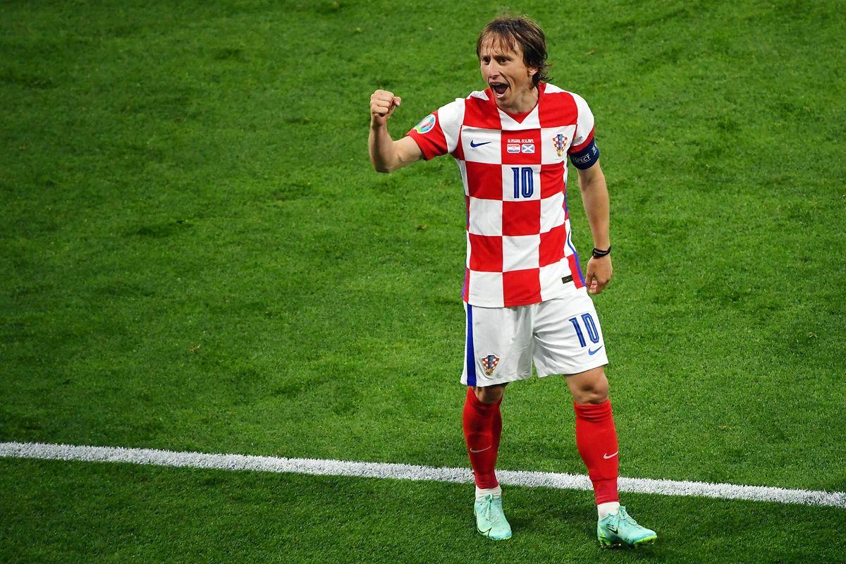 Luka Modric führt Kroatien ins Achtelfinale.