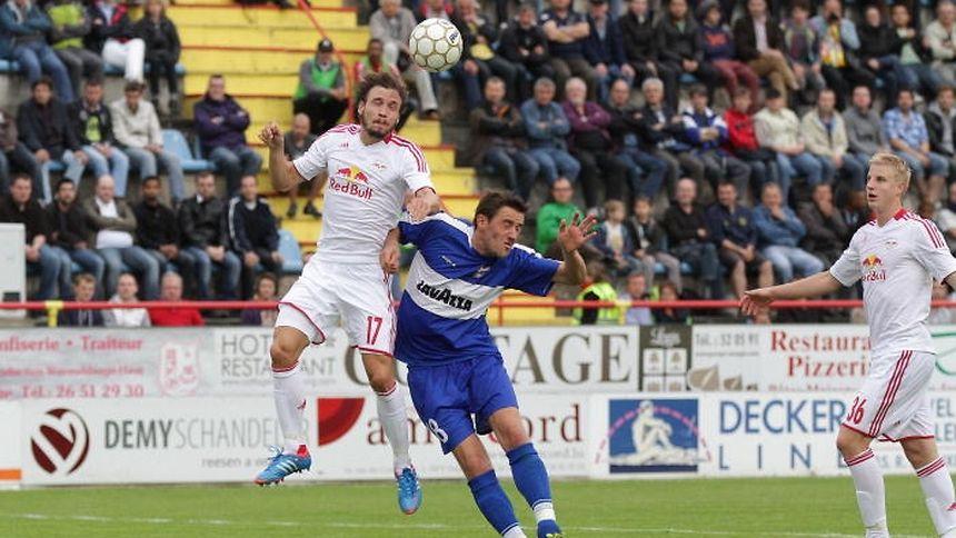 1 600 Zuschauer verfolgten das Hinspiel zwischen F91 und RB Salzburg. Für die dritte Runde der Qualifikation müssten eigentlich 4 500 Sitzplätze zur Verfügung stehen.