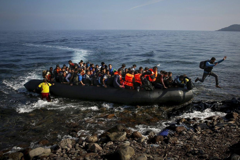 Gefährliche Reise: Flüchtlinge auf ihrer Odyssee nach Europa.