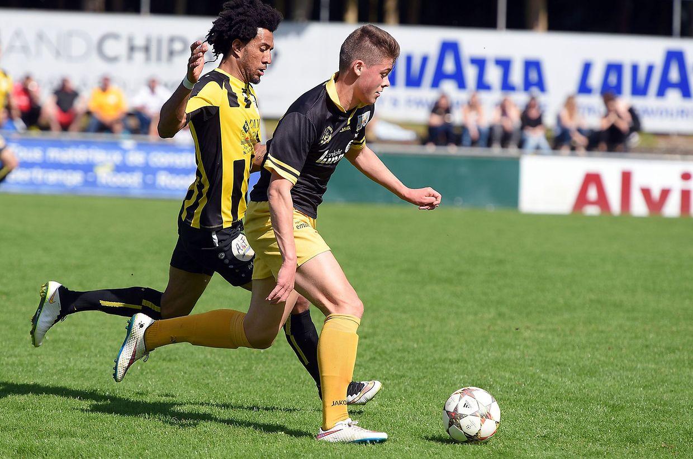 Avenir Beggen - Bissen: Nelito Cruz et  Christophe Thiel.