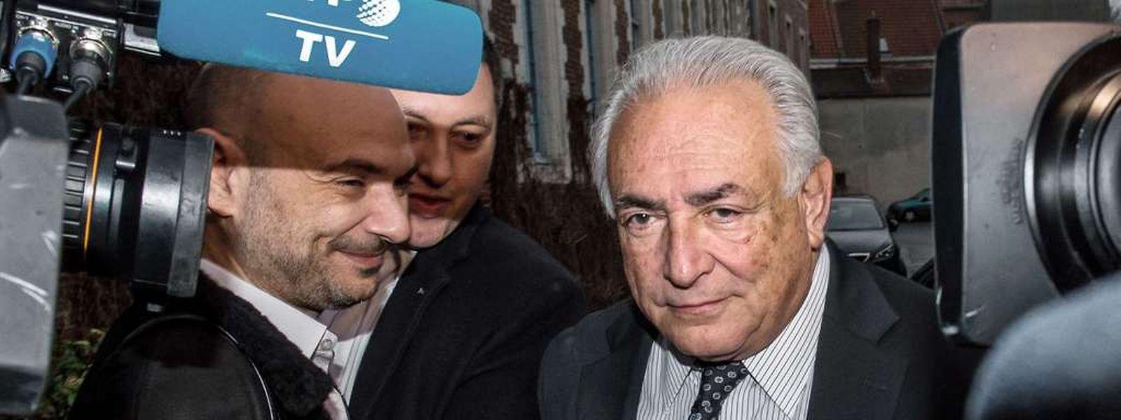 Dominique Strauss-Kahn erschien am Dienstag im Gericht.