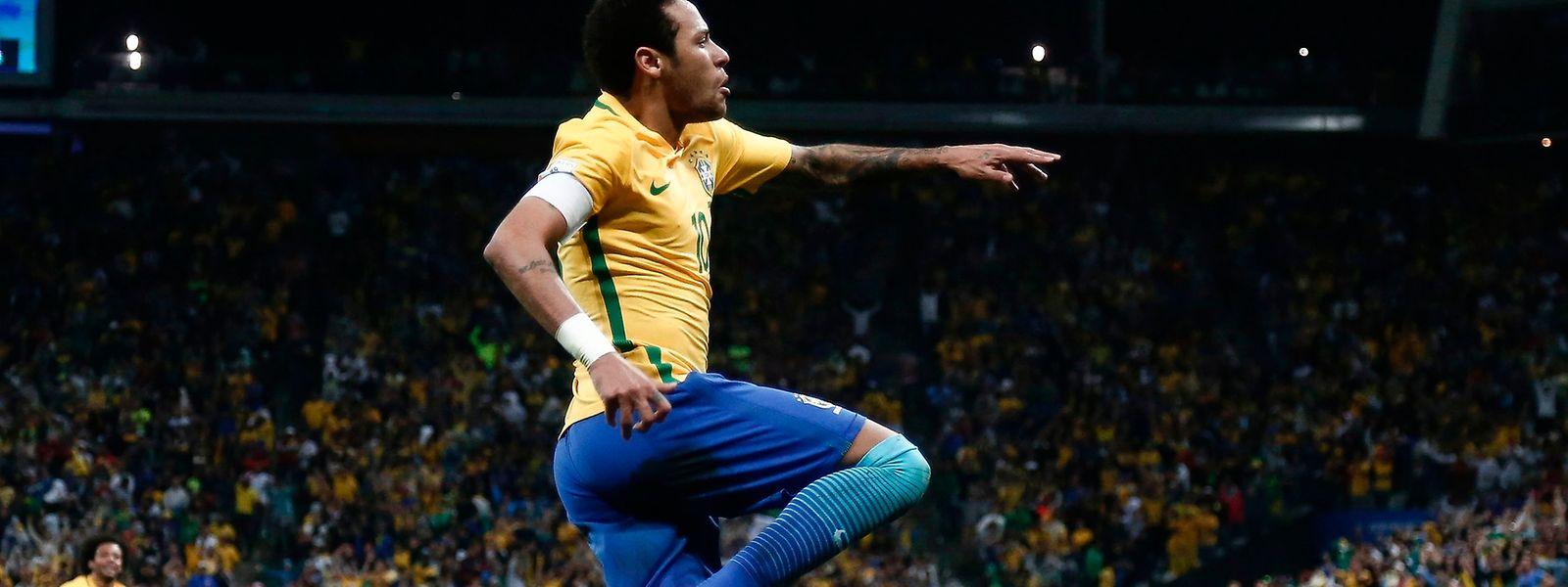 Neymar und Brasilien haben die Spitze erobert.