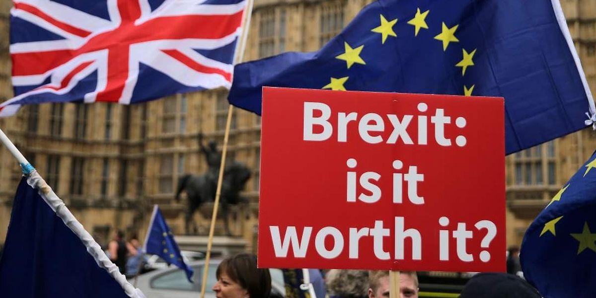 Die Verhandlungen zwischen London und Brüssel sind in einer Sackgasse.