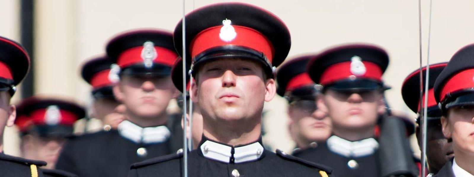 Prinz Sébastien - hier zu sehen in Sandhurst.