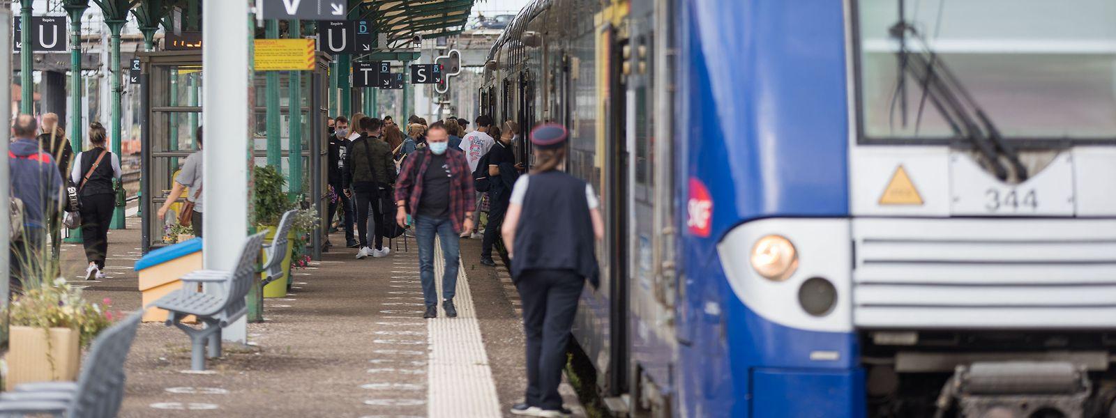 La liaison Thionville-Luxembourg est à nouveau assurée en bus depuis le 24 juillet.