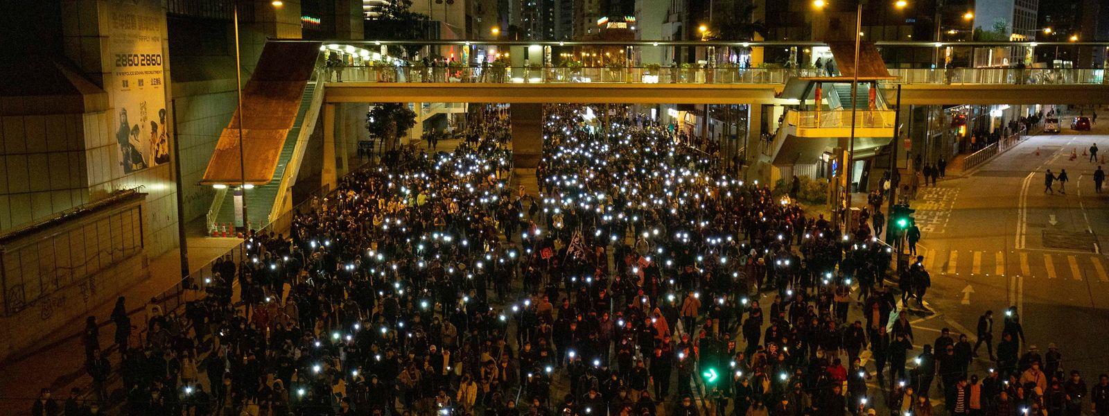 Auch nach einem halben Jahr scheint bei den Protesten in Hongkong kein Ende in Sicht zu sein.