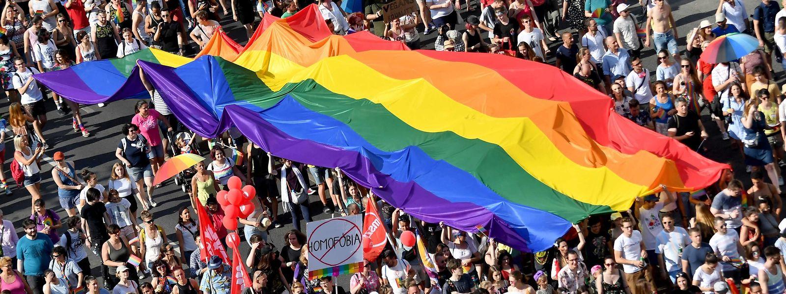 Das ungarische Gesetz, das die angebliche Werbung für Homosexualität verbietet, löste in Europa große Empörung aus.
