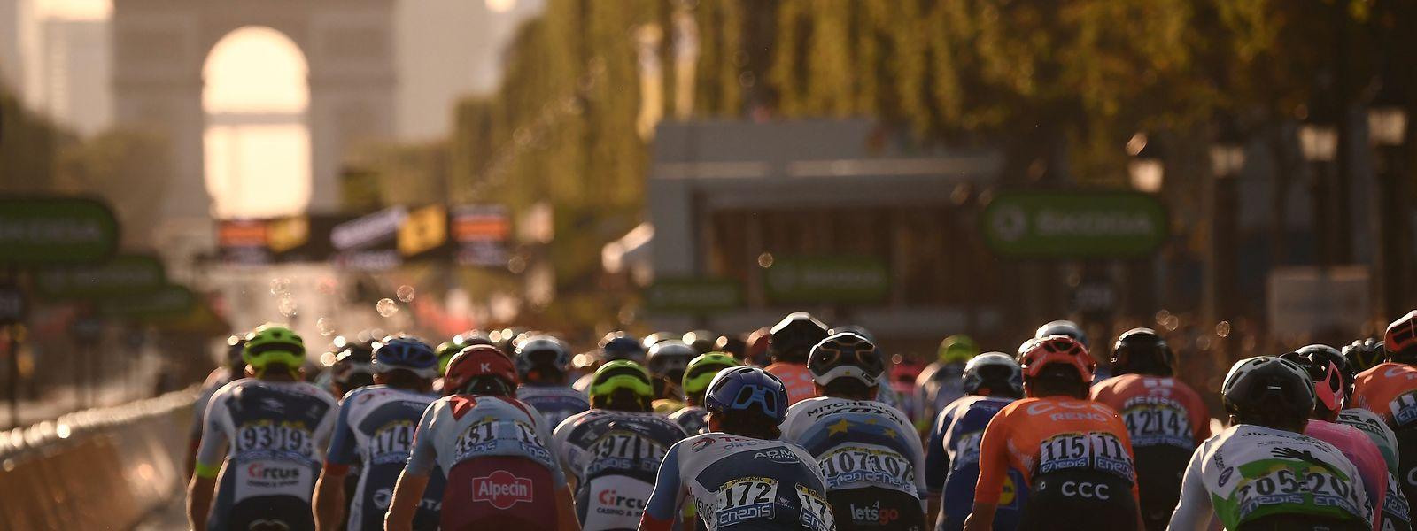 L'arrivée sur les Champs-Elysées aura lieu le dimanche 20 septembre