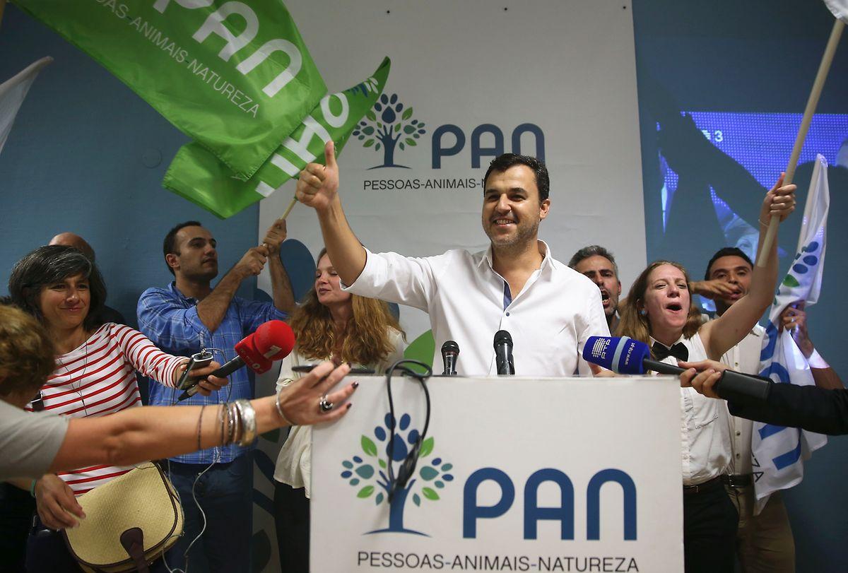 André e Silva do PAN foi eleito por Lisboa