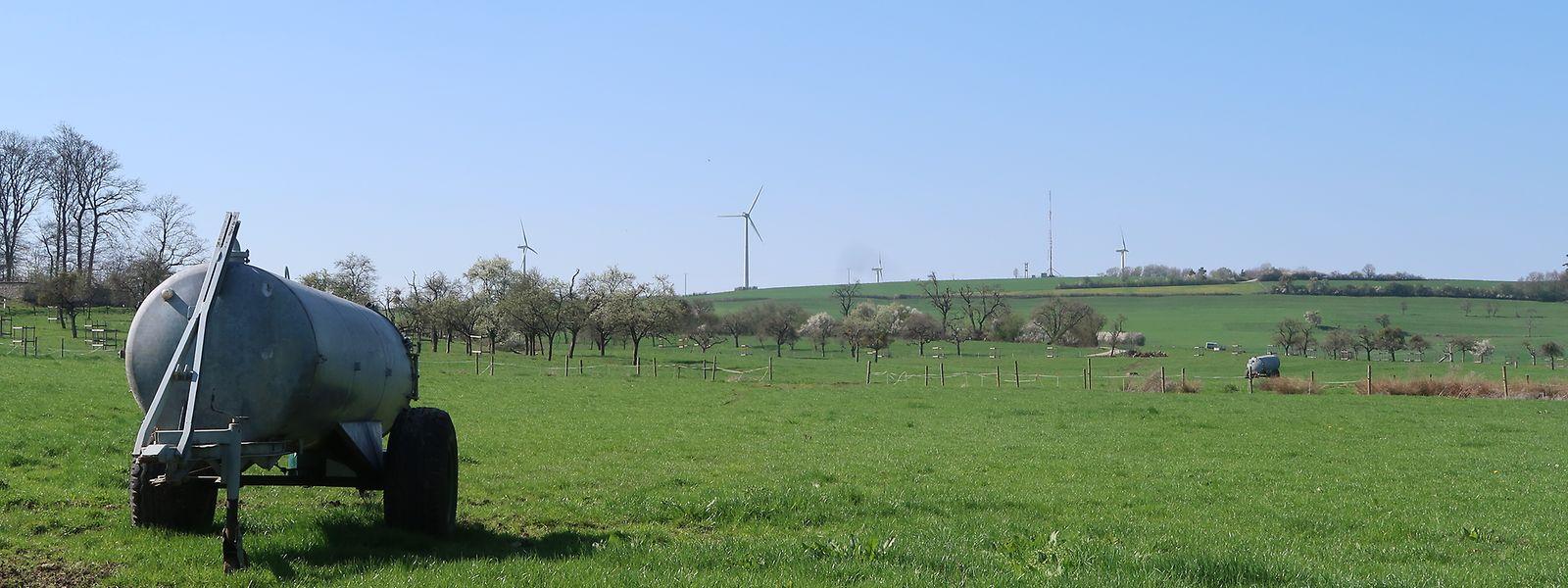 Windräder bei Mompach: Sie werden demnächst abgebaut und durch eine einzige, leistungsfähige Anlage ersetzt.