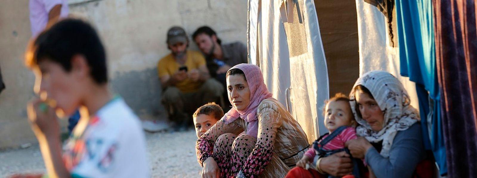 Mehr als 10 Millionen Syrier haben seit Beginn des Bürgerkriegs ihr Land verlassen oder sind Binnenvertriebene.
