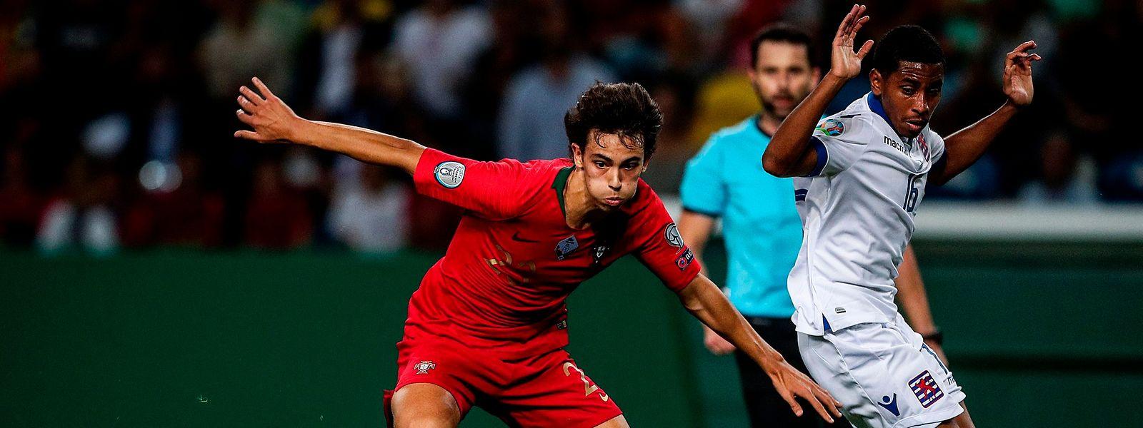 Joao Félix , ici devant Leandro Barreiro, n'a pas trouvé l'ouverture.