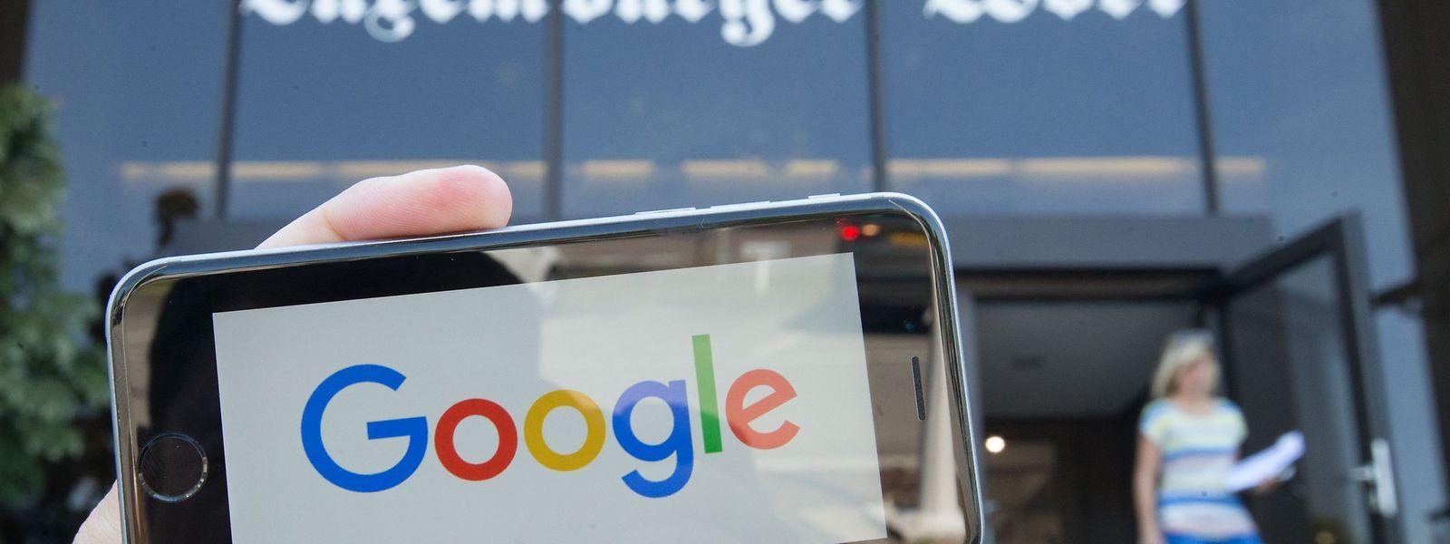 Der US-Technologiekonzern Google unterstützt den Verlag des Luxemburger Wort bei einem innovativen Vorhaben.