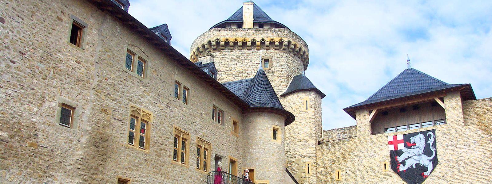 Le château de Malbrouck, à deux pas de la frontière, fait partie des sites accessibles gratuitement cet été.
