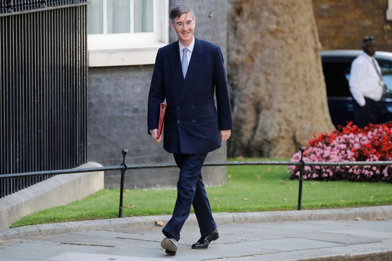 Jacob Rees-Mogg, 50 ans, est chargé des relations avec le parlement au sein du nouveau gouvernement.