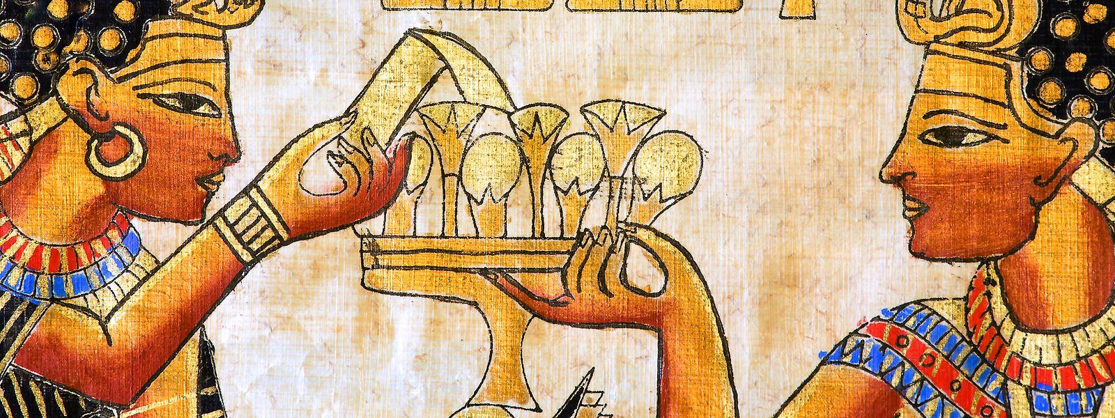 Die Ägypter haben schon vor 6000 Jahren fleißig Bier gebraut und getrunken.