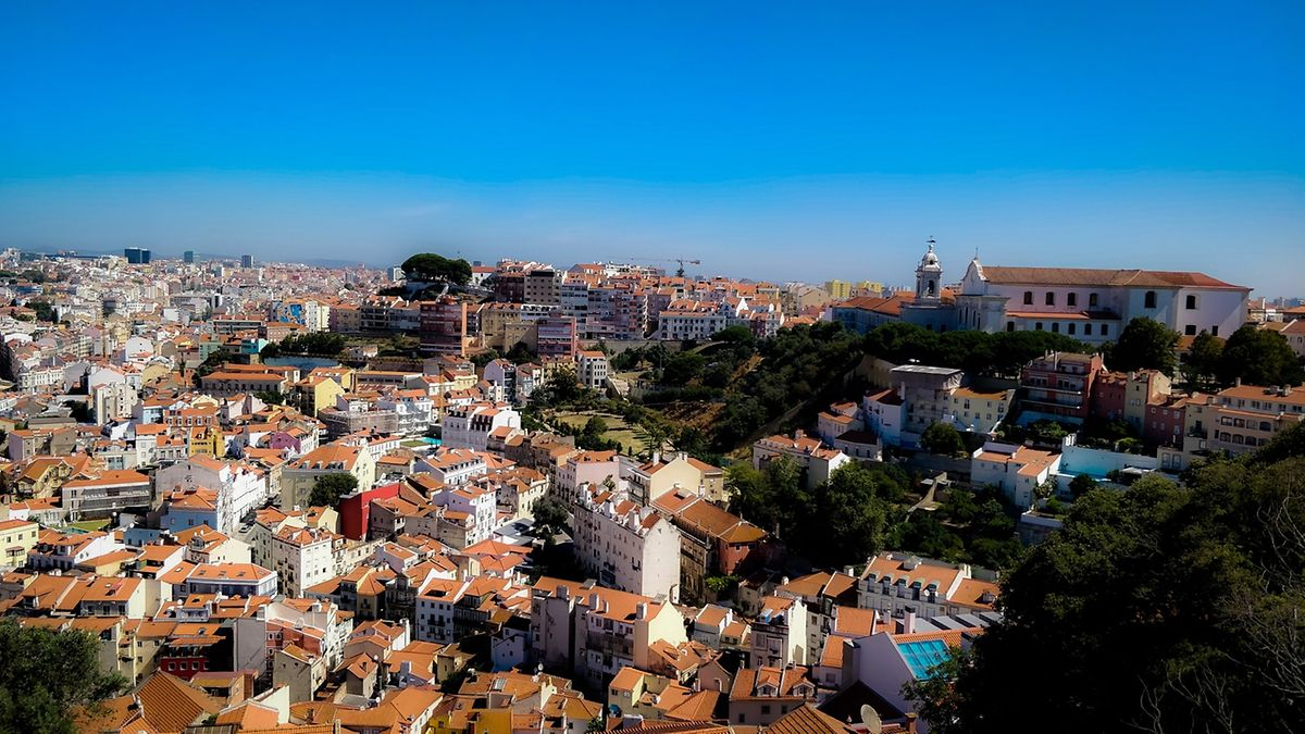 View over Lisbon from São Jorge Castle Photo: Adam Walder