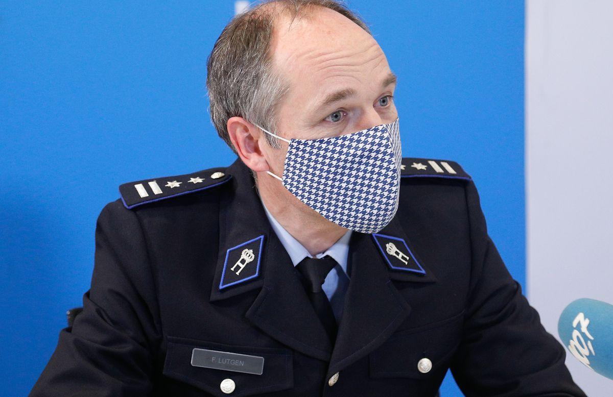 """Francis Lutgen: """"Wer über eine Karriere bei der Polizei nachdenkt, soll mit den Vorbereitungen nicht bis September warten."""""""
