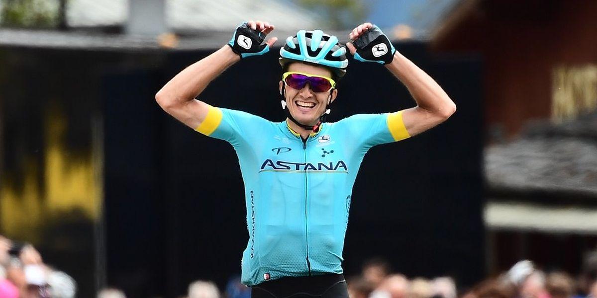 Pello Bilbao a remporté en solitaire la sixième étape du Critérium du Dauphiné