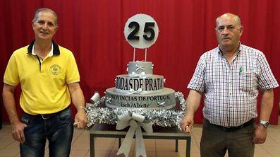 Manuel Cavaleiro et José Pereira du Rancho Folclórico Províncias de Portugal, qui fête les 25 ans des Marches de la Saint-Jean à Esch/Alzette, le 24 juin prochain