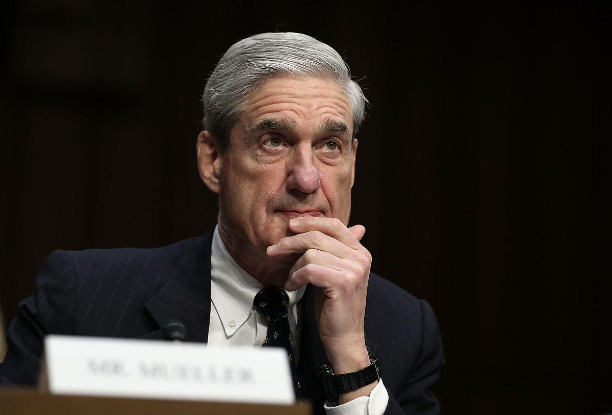 Robert Mueller präsentierte die Ergebnisse seines Berichts in einer kurzen Pressekonferenz Ende Mai.