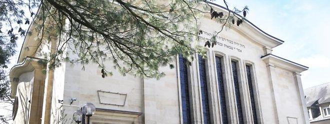 Die Synagoge für Luxemburg-Stadt steht seit 1953 in der Avenue Monterey.