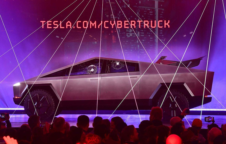 """Der neue """"Cybertruck"""" Tesla"""