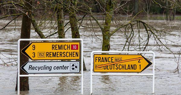 Hochwasserrisiko: Steigende Pegelstände bis Samstagnachmittag