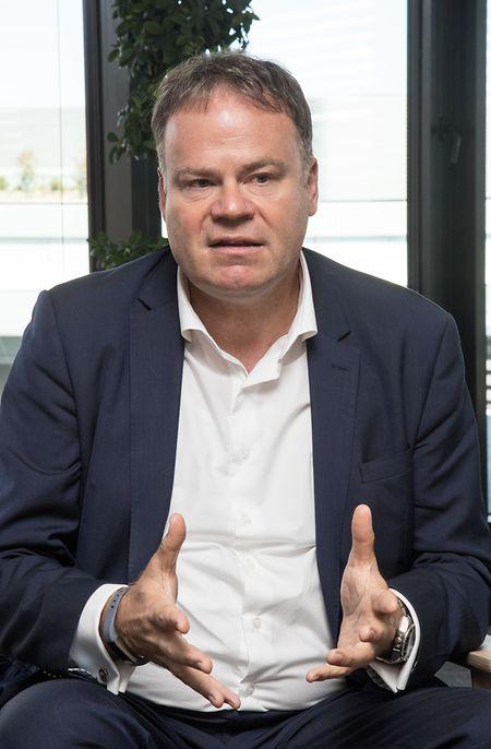 Gérard Hoffmann, CEO de Proximus Luxembourg.