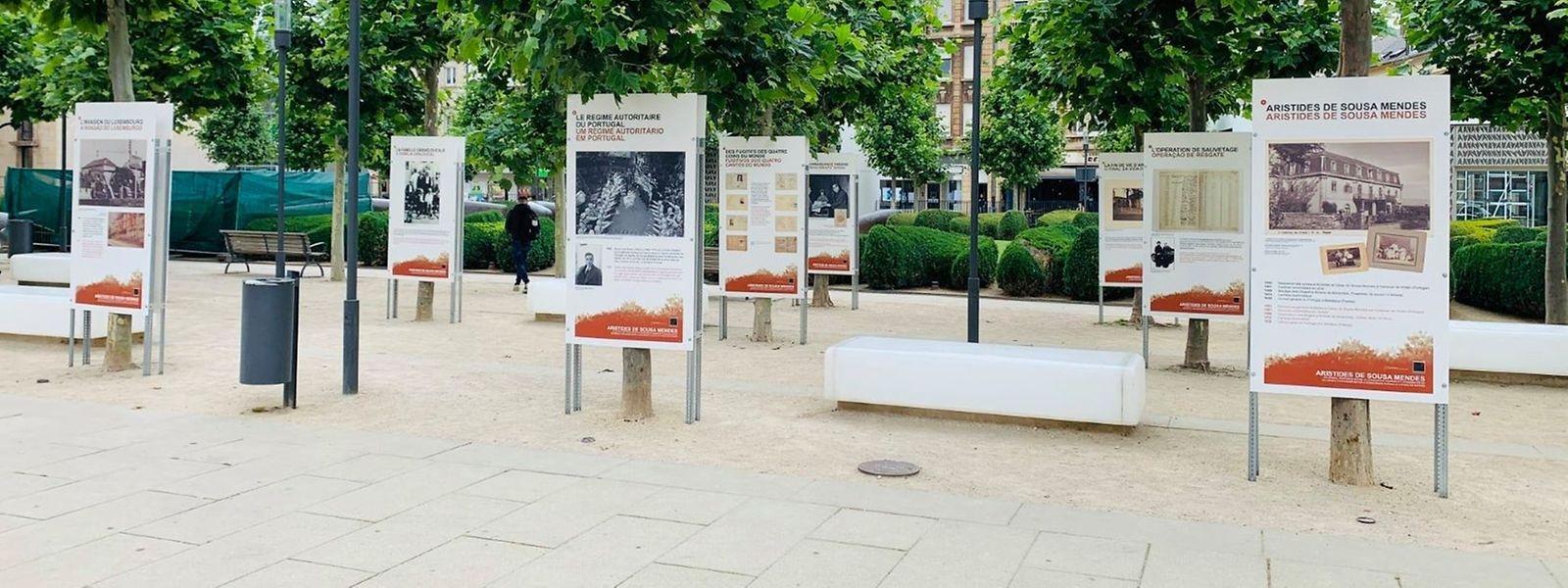 Das Resistenzmuseum hat die Ausstellung neu drucken lassen. Dieses Mal aber auf Infotafeln.