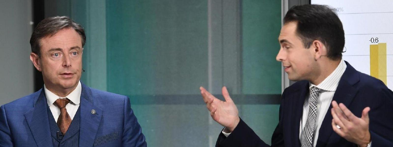 La N-VA de Bart De Wever et le Vlaams Belang de Tom Van Grieken pourraient obtenir 47,9% des suffrages si des élections étaient organisées demain.